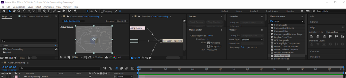 compositing